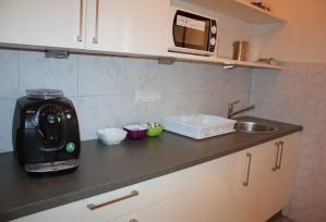 Ferienwohnung EG: Küche