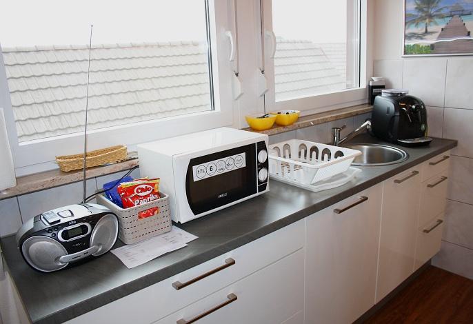 Loft-Appartment: Küche