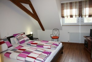 Loft-Appartment: Schlafzimmer