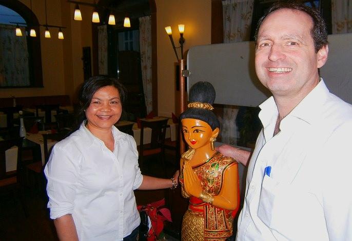 Ihre Gastgeber: Saiphet & Uwe Bayer