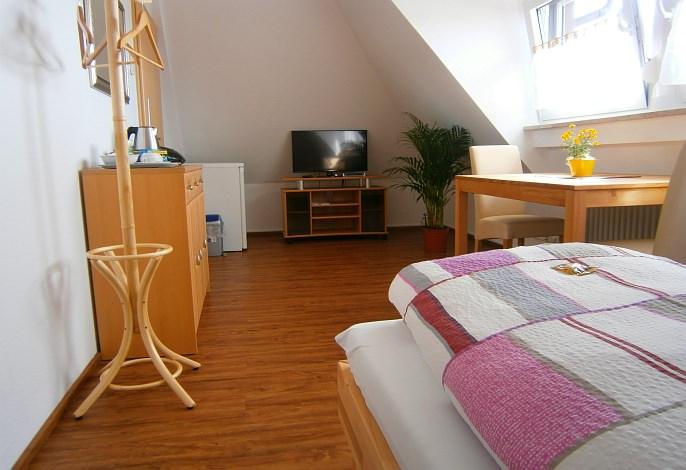 Doppelzimmer: Wohnbereich