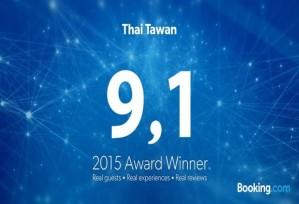 Booking.com 2015 Award Winner